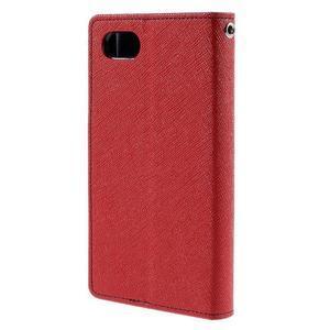 Fancy PU kožené pouzdro na Sony Xperia Z5 Compact - červené - 2