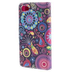 Diary peněženkové pouzdro na Sony Xperia Z5 Compact - flower - 2
