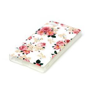 Sally gelový obal na Sony Xperia Z5 Compact - květiny - 2