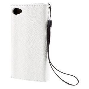 Stylové peněženkové pouzdro na Sony Xperia Z5 Compact - modré - 2