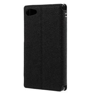 Pouzdro s okýnkem na Sony Xperia Z5 Compact - černé - 2