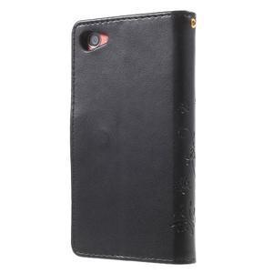 Butterfly peněženkové pouzdro na Sony Xperia Z5 Compact - černé - 2