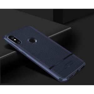 Litch odolný gelový kryt na mobil Xiaomi Mi A2 Lite - tmavěmodrý - 2