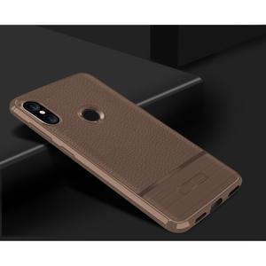 Litch odolný gelový kryt na mobil Xiaomi Mi A2 Lite - hnědý - 2