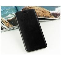 Černé PU kožené poudro na mobil Xiaomi Mi Note - 2/3
