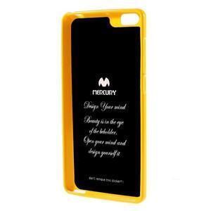 Jells gelový obal na mobil Xiaomi Mi Note - žlutý - 2