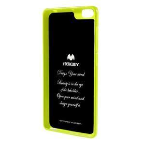 Jells gelový obal na mobil Xiaomi Mi Note - zelený - 2