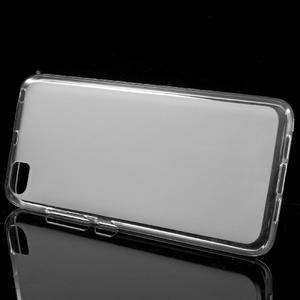Matný gelový obal na mobil Xiaomi Mi5 - bílý - 2