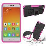 Odolný outdoor obal na mobil Xiaomi Mi5 - rose - 2/4