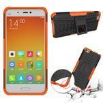 Odolný outdoor obal na mobil Xiaomi Mi5 - oranžový - 2/4