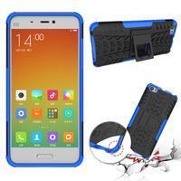 Odolný outdoor obal na mobil Xiaomi Mi5 - modrý - 2/4