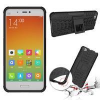 Odolný outdoor obal na mobil Xiaomi Mi5 - černý - 2/4
