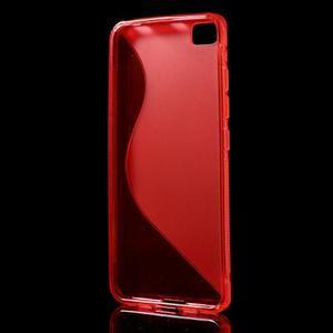 S-line gelový obal na mobil Xiaomi Mi5 - červený - 2