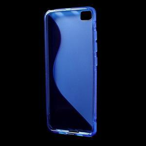 S-line gelový obal na mobil Xiaomi Mi5 - modrý - 2