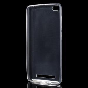 Ultratenký slim gelový obal na mobil Xiaomi Redmi 3 - transparentní - 2