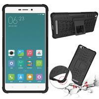 Outdoor odolný obal na mobil Xiaomi Redmi 3 - černý - 2/7