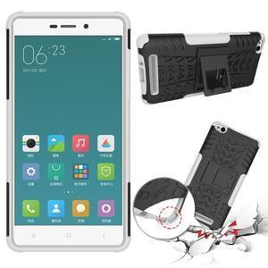 Outdoor odolný obal na mobil Xiaomi Redmi 3 - bílý - 2