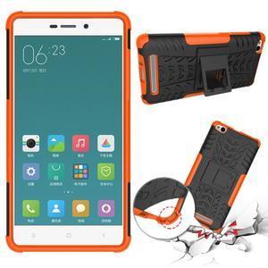 Outdoor odolný obal na mobil Xiaomi Redmi 3 Pro - oranžový - 2