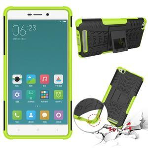 Outdoor odolný obal na mobil Xiaomi Redmi 3 - zelený - 2