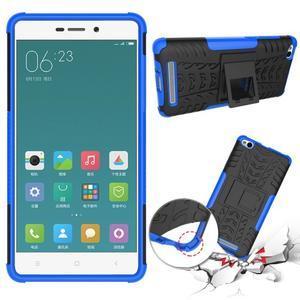 Outdoor odolný obal na mobil Xiaomi Redmi 3 Pro - modrý - 2