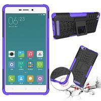 Outdoor odolný obal na mobil Xiaomi Redmi 3 Pro - fialový - 2/2
