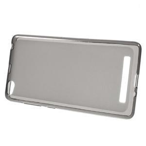 Matné gelové pouzdro na mobil Xiaomi Redmi 3 - šedé - 2