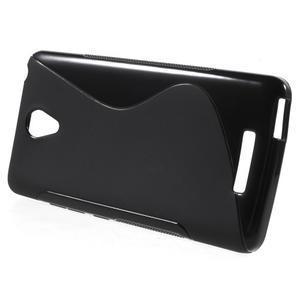 S-line gelový obal na mobil Xiaomi Redmi Note 2 - černý - 2