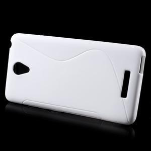 S-line gelový obal na mobil Xiaomi Redmi Note 2 - bílý - 2