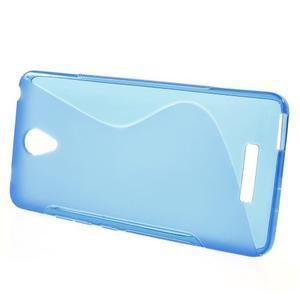 S-line gelový obal na mobil Xiaomi Redmi Note 2 - modrý - 2