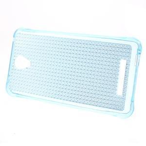 Diamonds gelový obal na Xiaomi Redmi Note 2 - modrý - 2