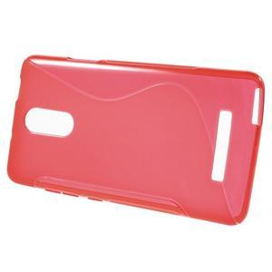 S-line gelový obal na Xiaomi Redmi Note 3 - červený - 2