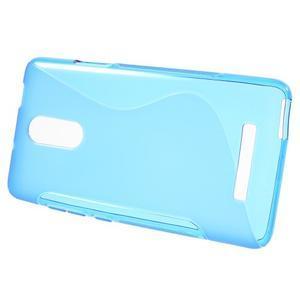 S-line gelový obal na Xiaomi Redmi Note 3 - modrý - 2