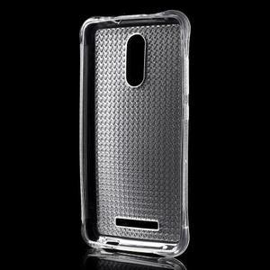Diamonds gelový obal na Xiaomi Redmi Note 3 - transparentní - 2
