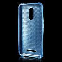 Diamonds gelový obal na Xiaomi Redmi Note 3 - modrý - 2/5