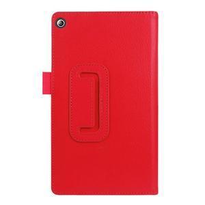 Dvoupolohové pouzdro na tablet Lenovo Tab 2 A7-20 - červené - 2