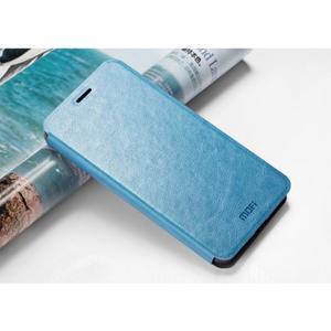 Mofir PU kožené pouzdro na Lenovo Vibe P1 - modré - 2