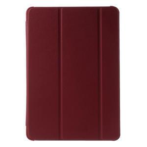 Trifold polohovatelné pouzdro na Samsung Galaxy Tab A 9.7 - červené - 2