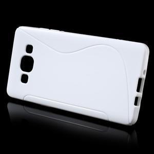 Gelové s-line pouzdro na Samsung Galaxy A3 - bílé - 2