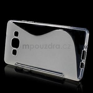 Gelové s-line pouzdro na Samsung Galaxy A3 - transparentní - 2