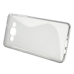 Gelové s-line pouzdro na Samsung Galaxy A3 - šedá - 2