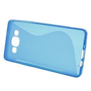 Gelové s-line pouzdro na Samsung Galaxy A3 - modrá - 2