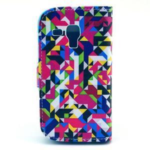 Safety pouzdro pro Samsung Galaxy S Duos/Trend Plus - mozaika barev - 2