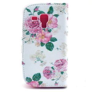 Safety pouzdro pro Samsung Galaxy S Duos/Trend Plus - růže - 2
