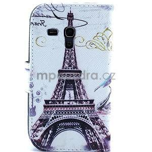 Peněženkové pouzdro na Samsung Galaxy S3 mini - Eiffelova věž - 2