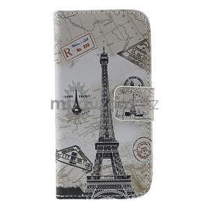 Peněženkové pouzdro pro Samsung Galaxy S4 mini - Eiffelova věž - 2