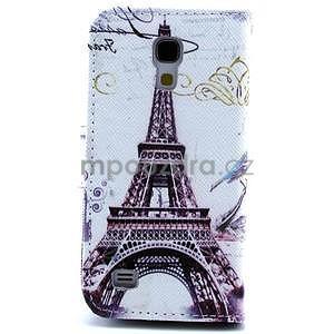Eiffel peněženkové pouzdro na mobil Samsung Galaxy S4 mini - 2