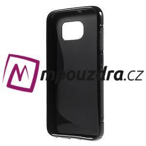 Gelové s-line pouzdro na Samsung Galaxy S6 - černé - 2