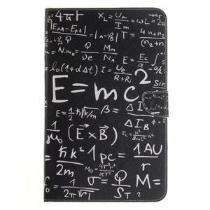 Closy PU kožené pouzdro na Samsung Galaxy Tab A 10.1 (2016) - vzorce - 2
