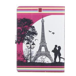 Emotive pouzdro na tablet Samsung Galaxy Tab S2 9.7 - láska pod Eiffelkou - 2