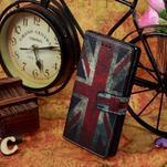Peněženkové pouzdro na mobil Sony Xperia M2 - UK vlajka - 2/6